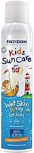 Profumi e cosmetici Spray solare per bambini SPF50 - Frezyderm Kids Sun Care Wet Skin Spray