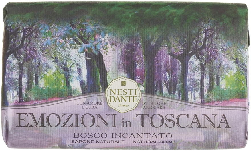 """Sapone """"Bosco incantato"""" - Nesti Dante Emozioni a Toscana Soap"""