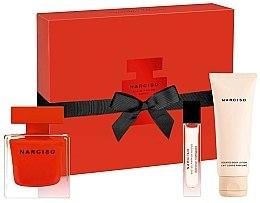 Profumi e cosmetici Narciso Rodriguez Narciso Rouge - Set (edp/90ml + b/lot/75ml + edp/10ml)