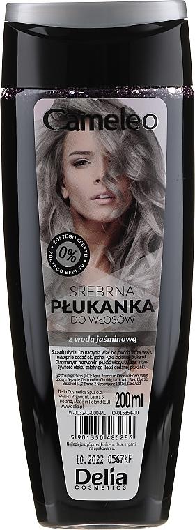 Condizionante colorante per capelli, argento - Delia Cosmetics Cameleo