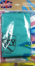 Profumi e cosmetici Grembiule, azzurro - Ronney Professional Hairdressing Apron Azure