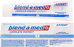 Profumi e cosmetici Dentifricio - Blend-a-med Complete Protect Expert Sensitive & Gentle Whitening Toothpaste