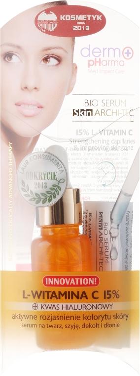 Siero viso con vitamina C - Dermo Pharma Bio Serum Skin Archi-Tec Vitamin C