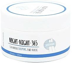 Profumi e cosmetici Spugne all'acqua di mare e collagene per la cura serale - Wish Formula Night Night 365 Sea Water Sleeping Pad Mask