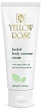 Profumi e cosmetici Crema corpo alle erbe - Yellow Rose Herbal Body Contour Cream