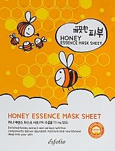 Profumi e cosmetici Maschera in tessuto al miele - Esfolio Pure Skin Essence Mask Sheet Honey