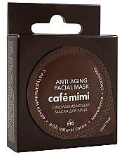 Profumi e cosmetici Maschera ringiovanente per viso, con cacao naturale - Cafe Mimi Anti-Aging Mask