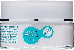 Profumi e cosmetici Polvere acrilica per unghie, 72 g - Silcare Sequent Acryl Pro