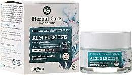 Profumi e cosmetici Crema viso idratante - Farmona Herbal Care Blue Algae Cream
