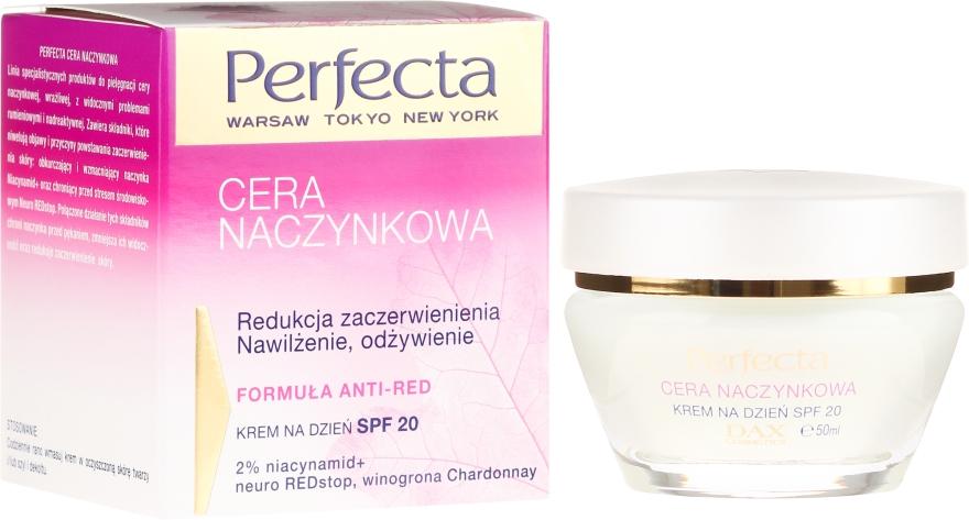 Crema idratante da giorno SPF20 - Perfecta Cera Naczynkowa SPF20 Cream