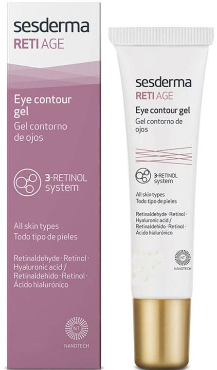 Gel anti-età contorno occhi con tre tipi di retinolo - SesDerma Laboratories Reti Age Facial Eye Contour Gel 3-Retinol System — foto N1