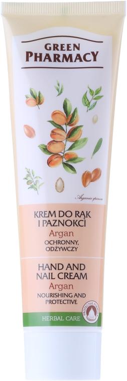 """Crema mani e unghie protettiva """"Olio di Argan"""" - Green Pharmacy"""
