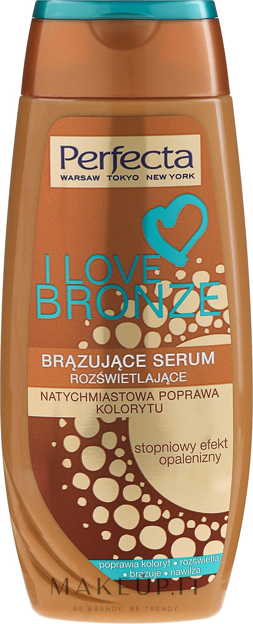 Siero abbronzante corpo - Perfecta I Love Bronze Serum — foto 250 ml