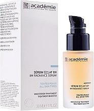 Profumi e cosmetici Siero vitaminico, luminosità della pelle - Academie 8h Radiance Serum