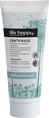 Dentifricio con estratto di eucalipto - Bio Happy Neutral&Delicate Toothpaste Eucalyptus