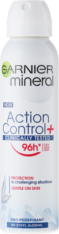 Deodorante spray - Garnier Mineral Action Control Clinical Deo