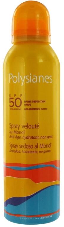 Spray solare - Klorane Polysianes Velvety Spray with Monoi SPF50 — foto N1