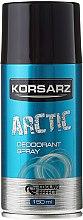 "Profumi e cosmetici Deodorante spray ""Arctic"" - Pharma CF Korsarz Arctic Deodorant"