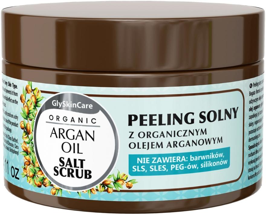 Peeling al sale con olio di argan - GlySkinCare Argan Oil Salt Scrub — foto N1