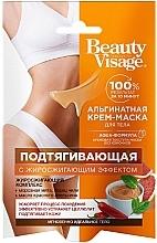 "Profumi e cosmetici Crema-maschera corpo ""rassodante"" all'alginato - FitoKosmetik Beauty Visage"