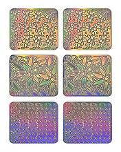 Profumi e cosmetici Adesivi per nail design, 3704 - Neess Patternness