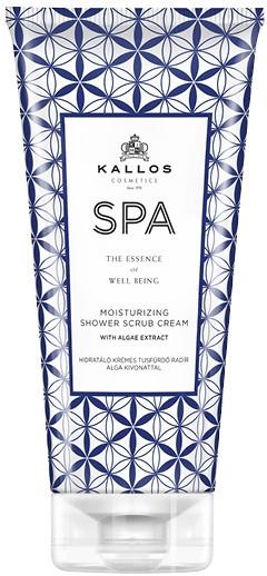 Crema-scrub da doccia - Kallos Cosmetics SPA Moisturizing Shower Scrub Cream With Algae Extract