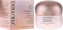 Profumi e cosmetici Crema giorno - Shiseido Benefiance NutriPerfect Day Cream SPF 15