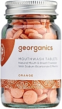 """Profumi e cosmetici Compresse collutorio """"Arancia"""" - Georganics Mouthwash Tablets Orange"""