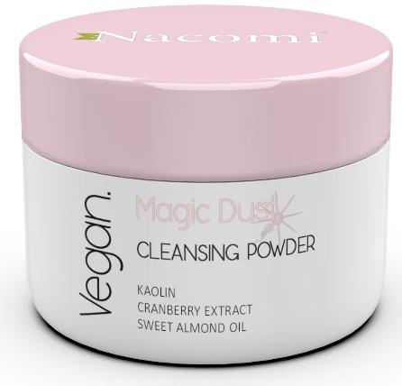 Polvere detergente viso per pelli secche - Nacomi Face Cleansing & Brightening Powder Magic Dust