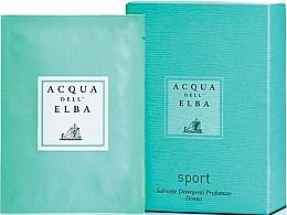 Profumi e cosmetici Acqua Dell Elba Sport - Salviette profumate