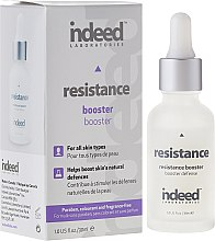 Profumi e cosmetici Booster viso - Indeed Laboratories Resistance Booster
