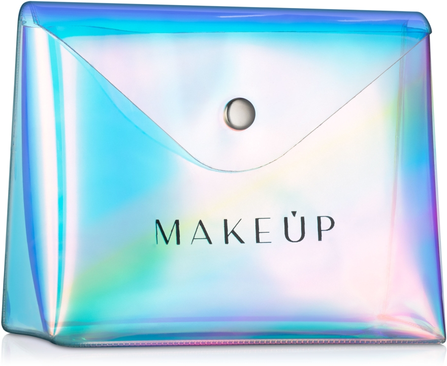 """Beauty case trasparente, """"Holographic"""" 16x13x6cm - MakeUp — foto N1"""