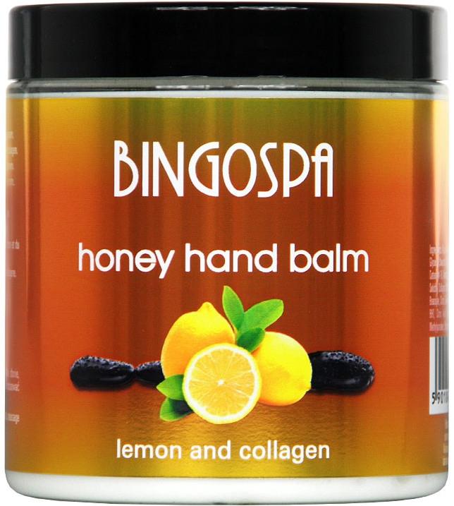 Balsamo mani al miele e limone - BingoSpa
