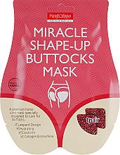 Profumi e cosmetici Maschera lifting per il sollevamento intensivo dei glutei - Purederm Miracle Shape-Up Buttocks Mask