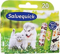 Profumi e cosmetici Cerotti per bambini - Salvequick Animal Planet
