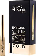 Profumi e cosmetici Siero per le ciglia - Long4lashes EyeLash Gold Serum