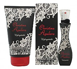 Profumi e cosmetici Christina Aguilera Unforgettable - Set (edp/30ml + sh/gel/150ml)
