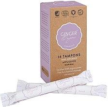 """Profumi e cosmetici Tamponi con applicatore """"Normal"""", 14 pz - Ginger Organic"""