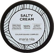 Profumi e cosmetici Crema per lo styling, fissazione leggera - Maria Nila Salty Cream