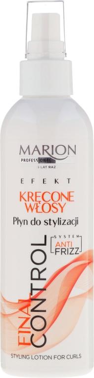 Lozione styling per capelli ricci - Marion Final Control Lotion