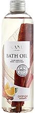 """Profumi e cosmetici Olio da bagno """"Arancia e Cannella"""" - Kanu Nature Bath Oil Orange Cinnamon"""