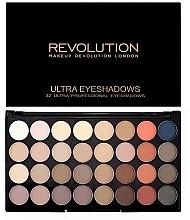 Palette ombretti, 32 tonalità - Makeup Revolution Ultra 32 Shade Palette Flawless Matte 2 — foto N1