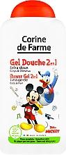 "Profumi e cosmetici Shampoo-gel doccia ""Mickey Mousse"" - Corine De Farme Mickey"