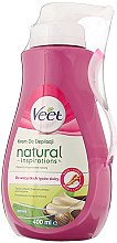 Profumi e cosmetici Crema depilatoria gambe e corpo, con burro di karité, per tutti i tipi di pelle - Veet Naturals Inspirations