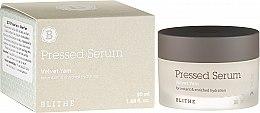 Profumi e cosmetici Siero idratante compresso - Blithe Pressed Serum Velvet Yam