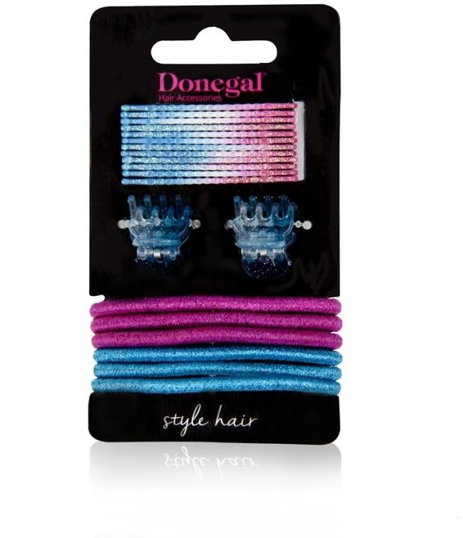 """Set accessori per capelli """"Beauty Hair"""" FA-5528, 20 pz - Donegal — foto N1"""