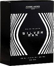 Profumi e cosmetici Jeanne Arthes Silver Man - Eau de toilette