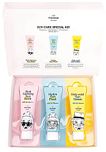 Profumi e cosmetici Set - Village 11 Factory Sun Care Special Kit (fluid/25ml + block/25ml + cream/25ml)