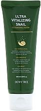 Profumi e cosmetici Schiuma detergente - Dewytree Ultra Vitalizing Snail Cleansing Foam