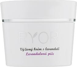 Profumi e cosmetici Crema nutriente alla lavanda - Ryor Lavender Nourishing Face Cream